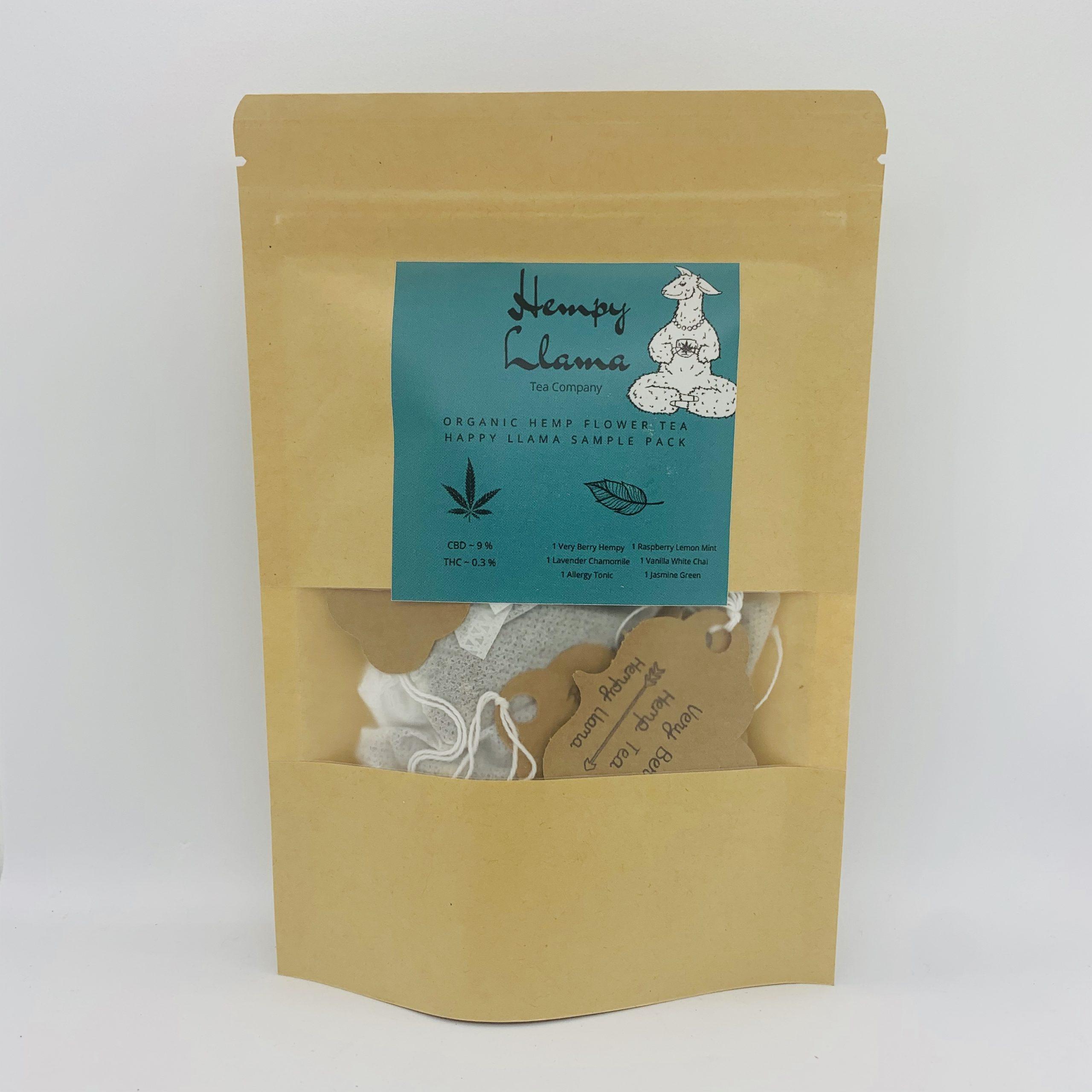 CBD Tea – 6-pack Sample Pack